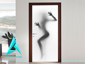 faoto tapete za vrata, nalepnice za vrata
