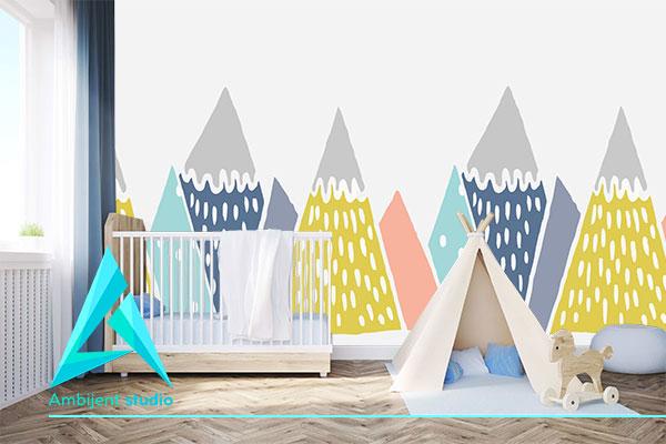 decije tapete planine izrada decijih tapeta